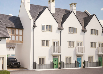 Thumbnail 3 bed terraced house for sale in Kings Point House Queen Mother Square, Poundbury