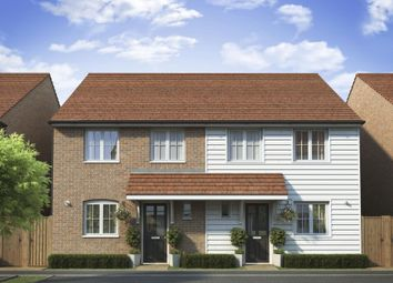 "Thumbnail 3 bed semi-detached house for sale in ""Barwick"" at Dymchurch Road, Hythe"