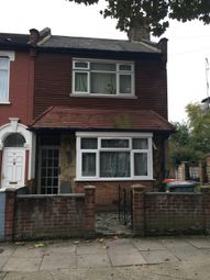 Thumbnail 3 bed end terrace house for sale in Southchurch Road, East Ham