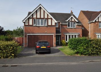 Thumbnail 4 bed detached house for sale in Edgbaston Drive, Stoke-On-Trent, Staffordshire