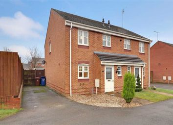 Thumbnail 3 bed semi-detached house for sale in Horseshoe Drive, Wimblebury, Staffordshire