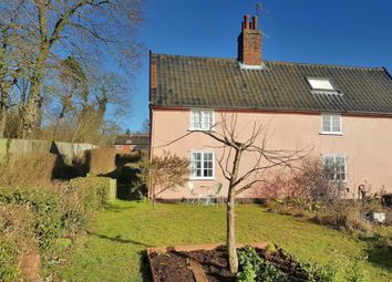 Thumbnail 1 bed semi-detached house to rent in Low Road, Marlesford, Woodbridge