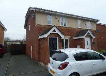Thumbnail 2 bed semi-detached house for sale in Laggan Close, Stockingford, Nuneaton