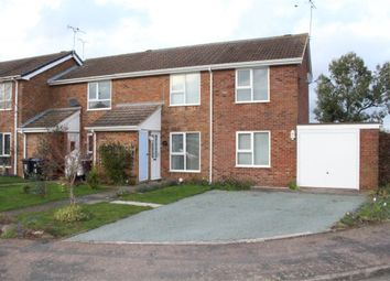 Thumbnail 3 bed end terrace house for sale in Bramley Close, Broughton Astley, Leicester