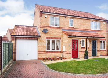 Thumbnail 3 bedroom semi-detached house for sale in Sanderson Road, Lincoln