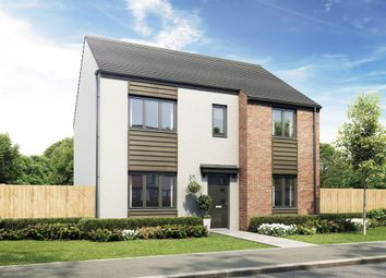 "Thumbnail 4 bed detached house for sale in ""The Callerton"" at Exeter Road, Wallsend"