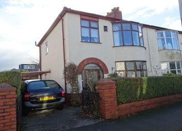 Thumbnail 3 bed semi-detached house for sale in Methuen Avenue, Fulwood, Preston