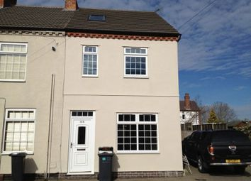 Thumbnail 3 bed end terrace house to rent in Manor Street, Hinckley