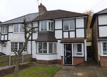 Thumbnail 3 bed semi-detached house to rent in Ulverley Green Road, Solihull
