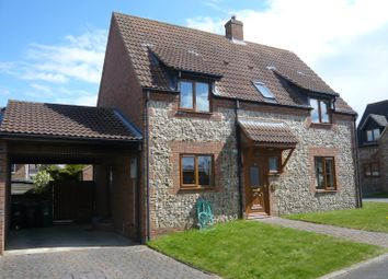 Thumbnail 3 bedroom detached house to rent in The Old Bakery Close, Methwold, Thetford
