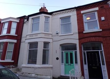 Thumbnail 4 bed property to rent in Elmbank Road, Liverpool