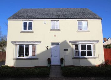 Thumbnail 4 bed detached house for sale in The Hurlings, St. Columb