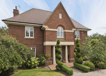 Thumbnail 4 bed detached house for sale in Fox Wood, Burwood Park, Hersham, Walton-On-Thames