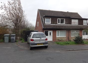 Thumbnail 3 bed semi-detached house to rent in Wayne Close, Batley