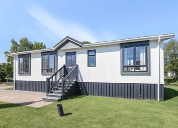 Thumbnail 2 bed mobile/park home for sale in 2 Mill Lodge, Waters View, Yarwell