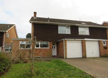 Thumbnail 4 bed semi-detached house for sale in Grayshott Close, Winchester
