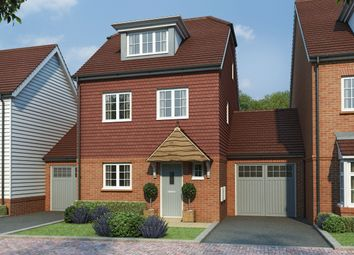 Thumbnail 4 bed link-detached house for sale in Tudeley Lane, Tonbridge