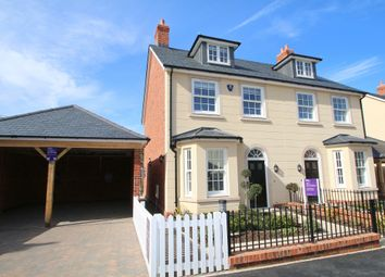 Thumbnail 4 bed semi-detached house for sale in Three Fields, Smallhythe Road, Tenterden