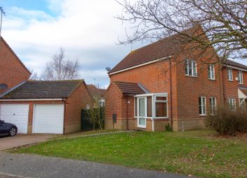 Thumbnail 3 bed end terrace house for sale in Wallace Close, King's Lynn