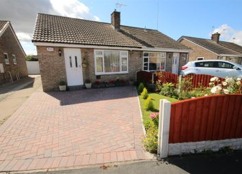 Thumbnail 2 bed semi-detached bungalow for sale in Beechfield Close, Thorpe Willoughby, Selby