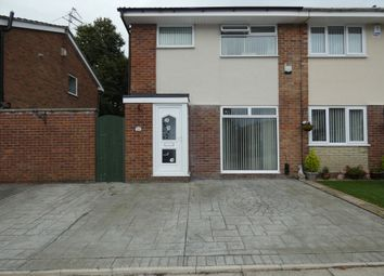 Thumbnail 3 bedroom semi-detached house for sale in Manion Avenue, Lydiate, Liverpool