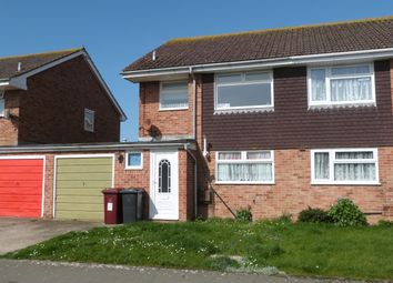 Thumbnail 3 bed semi-detached house to rent in East Beach Road, Selsey, Chichester