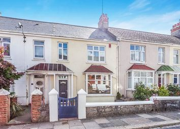 Thumbnail 3 bed terraced house for sale in Dale Gardens, Mutley, Plymouth