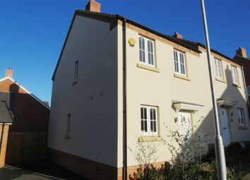 Thumbnail 3 bed semi-detached house for sale in Junction Way, Thrapston, Kettering
