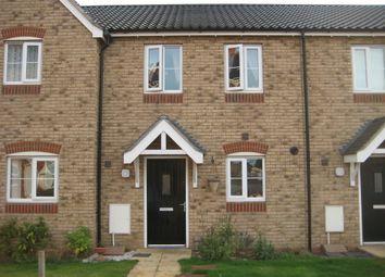 Thumbnail 2 bedroom terraced house to rent in Brambling Lane, Cringleford, Norwich