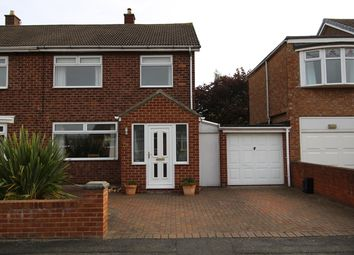 Thumbnail 3 bed semi-detached house to rent in Swinton Road, Stockton-On-Tees