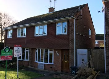 Thumbnail 3 bedroom semi-detached house to rent in Tyrrell Mead, Sidmouth