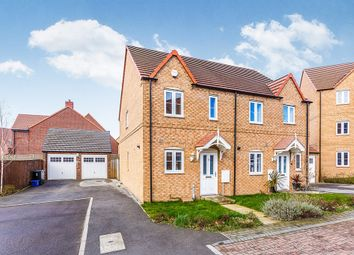 Thumbnail 2 bed semi-detached house for sale in Long Meadows, Bramley, Rotherham