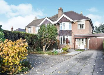 Thumbnail 3 bed semi-detached house for sale in Burton Road, Branston, Burton-On-Trent