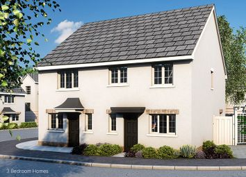 Thumbnail 3 bed semi-detached house for sale in The Gamekeeper Plot 17 And 22, Rowans, Horn Lane, Plymstock, Devon