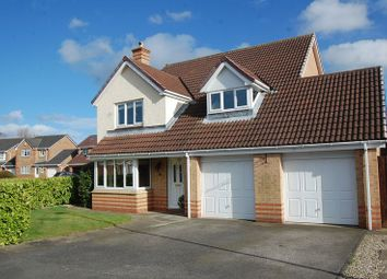 Thumbnail 5 bed detached house for sale in Foxglove Close, Northallerton