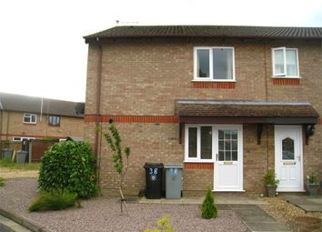 Thumbnail 1 bed end terrace house for sale in The Brambles, Deeping St James