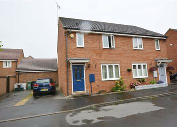 Thumbnail 2 bed semi-detached house for sale in Halton Way Kingsway, Quedgeley, Gloucester