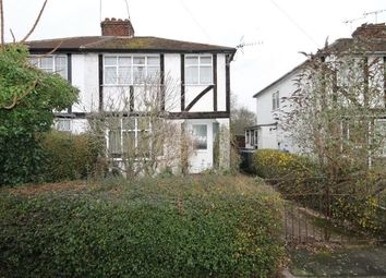 Thumbnail 3 bed semi-detached house for sale in Bois Hall Road, Addlestone