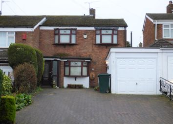 Thumbnail 3 bed semi-detached house for sale in Exminster Road, Styvechale, Coventry