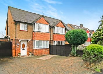 Thumbnail 3 bed semi-detached house for sale in Hersham, Walton-On-Thames, Surrey