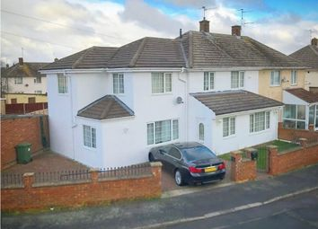 Thumbnail 7 bed semi-detached house for sale in Lindisfarne Road, Corby, Northamptonshire