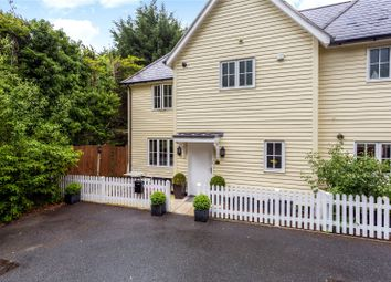 Thumbnail 3 bed semi-detached house for sale in Watermill Close, Brasted, Westerham, Kent