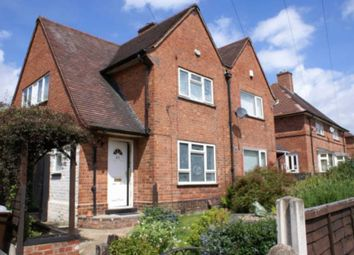 Thumbnail 3 bed semi-detached house for sale in Saxondale Drive, Bulwell, Nottingham