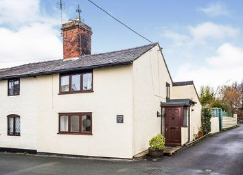 Thumbnail 2 bed semi-detached house for sale in Top Street, Whittington, Oswestry, Shropshire