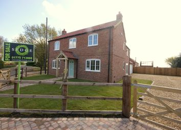 Thumbnail 4 bed detached house to rent in Towndam Lane, Donington, Spalding