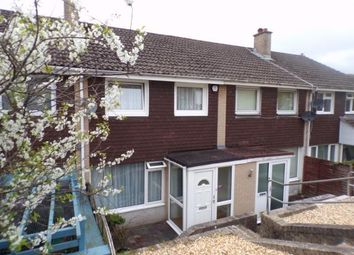 Thumbnail 2 bed terraced house for sale in Weston Mill, Plymouth, Devon