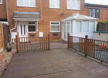 Thumbnail 3 bed terraced house to rent in Green Farm Close, Chesterfield