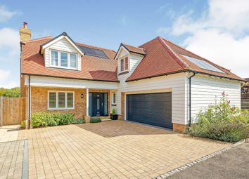 Thumbnail 4 bed detached house for sale in Paddock View, Faversham Road, Challock