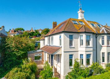 Thumbnail 5 bed semi-detached house for sale in Fort Road, Newhaven