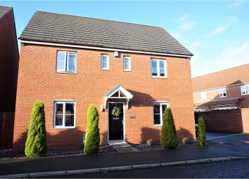 Thumbnail 4 bed detached house for sale in Cloverfield, Newcastle Upon Tyne